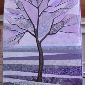 A Quilt from the Tree Series