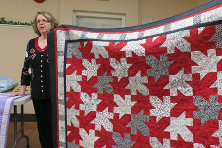Linda's Quilt of Valour