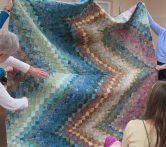 Anne's bargello quilt