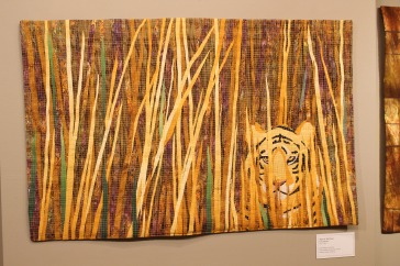 Tiger in Tall Grass by Carla DiPietro