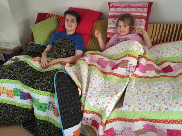 David and Alea's quilts