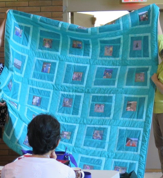A Photo Memory Quilt