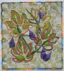 Emil's Fig Leaves - woven background