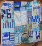 Diane's Playtime Quilt - back