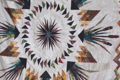 Elaine's quilt - detail