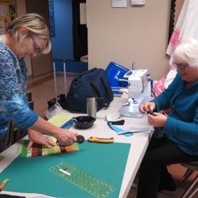 Diane and Marilyn, Krista Hennebury Workshop