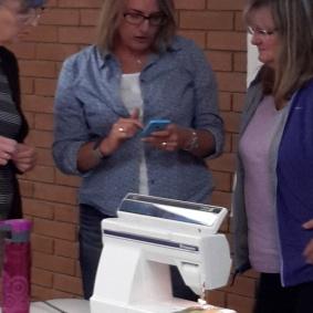 Judy, Krista and Pam, Krista Hennebury Workshop