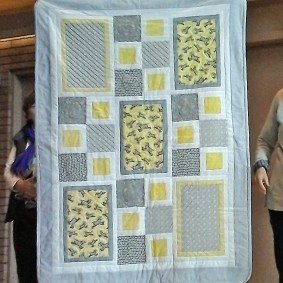 Lorna's baby quilt