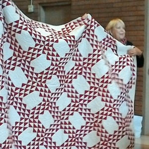 Joan's Turkey Red quilt