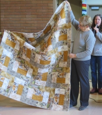 Lori's African themed quilt