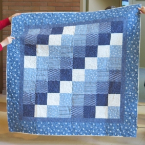 Lori's flannel quilt