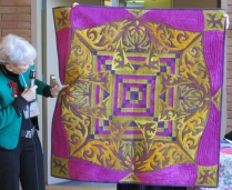 Tere's quilt, Ricky Timms inspired