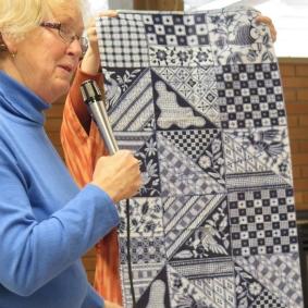 A Japanese textile
