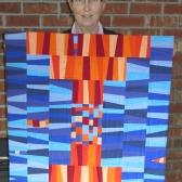 Judy S's quilt, Krista Hennebury workshop