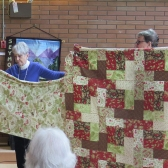 Lori's quilt - ready to sandwich