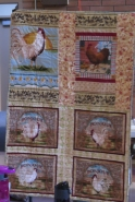 Anne's quilt - The Rooster Series
