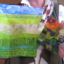 Anne's curved piecing background