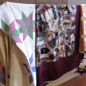 damaged quilts