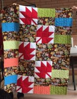 Linda's quilt for Fort McMurray