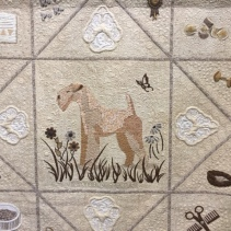 """Pedigree by Dianne Chretien of Chicoutimi, Quebec ... """"homage a mes chiens."""""""