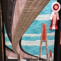 """Swoop by Terry Aske, New Westminster, B.C. ... the Skybridge in Metro Vancouver ... """"sense of distance and perspective."""""""
