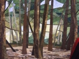 "Seaton Trail by Helen Garland of Toronto, Ontario ... ""based on a photograph ... the Seaton hiking trail in Pickering, Ontario."""