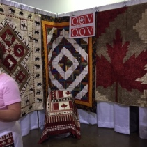Quilts of Valour booth