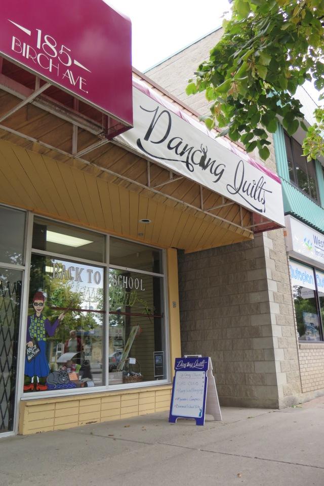 Dancing Quilts quilt shop