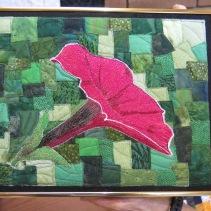 Ilse's thread painting