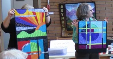 Marianne Haak Colourshot Quilt-As-You-Go Workshop