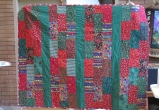 Dale and Donna's community quilt