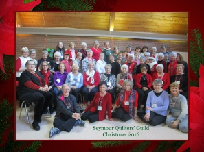 Seymour Quilters' Guild Christmas 2016