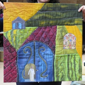 Ilse's fabric art