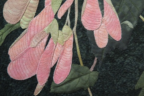 Botanical Reflections quilt show at VanDusen