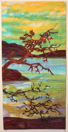 Botanical Reflections quilt show at VanDusen