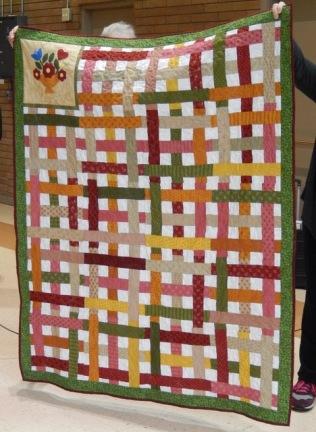 Sonia's community quilt