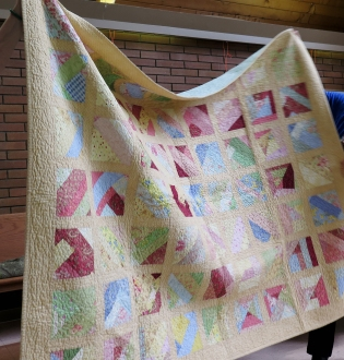 Carola's Rock Soup Quilt - finish with this