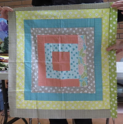 Carola's Rock Soup Quilt - start with this