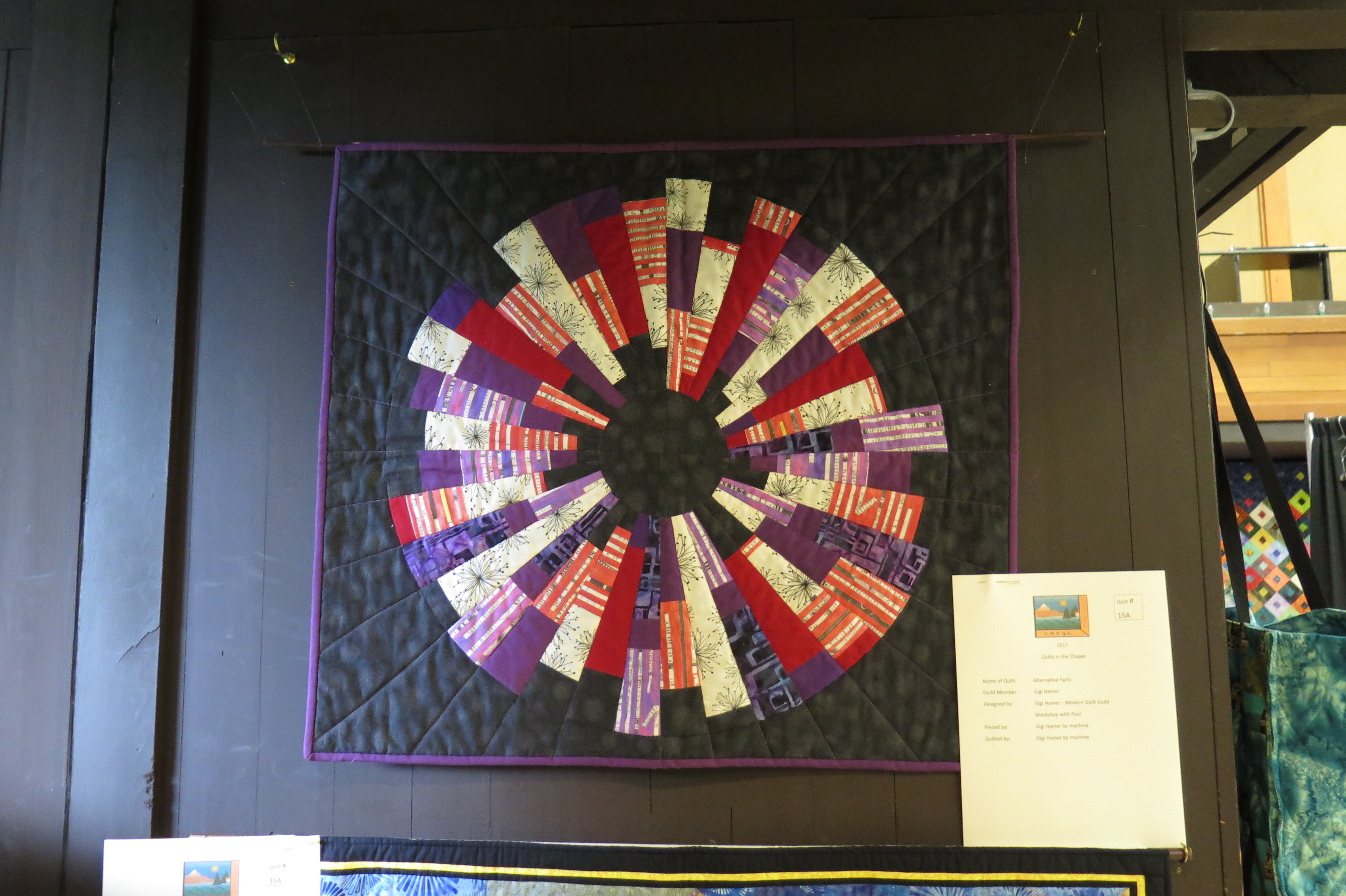 Quilts in the Chapel – A Big Show by a Small Guild   Seymour ... : quilt guild games - Adamdwight.com