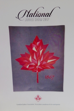 brochure: National Juried Show Quilt Canada 2017