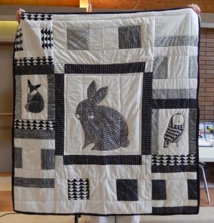 Linda's baby quilt