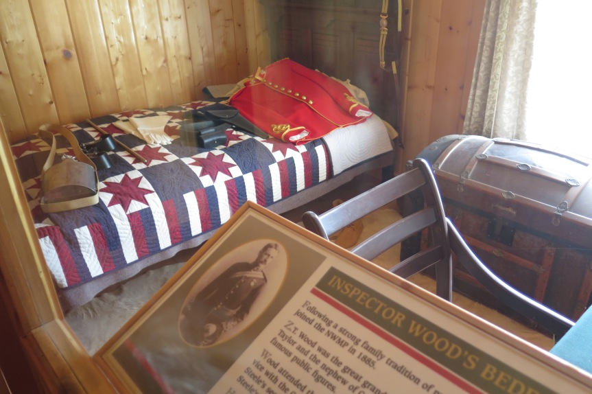 the officer's quarters