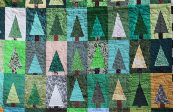 Barb's quilt - detail