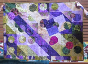 Anne's quilt - back