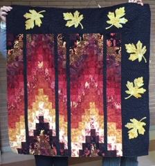 Moira's bargello quilt
