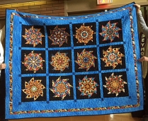 Marilyn's quilt - stack and whack