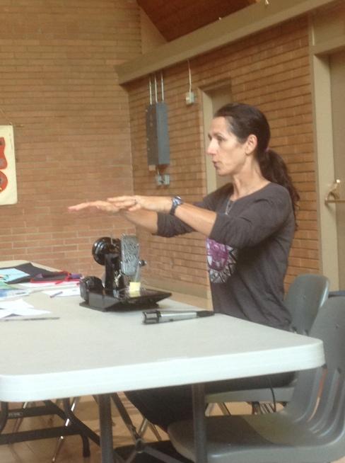 speaker Deanna McMullen, physiotherapist