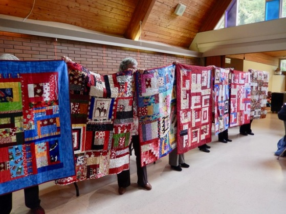 CQA's Big Quilt Bee - quilts for Ronald McDonald House