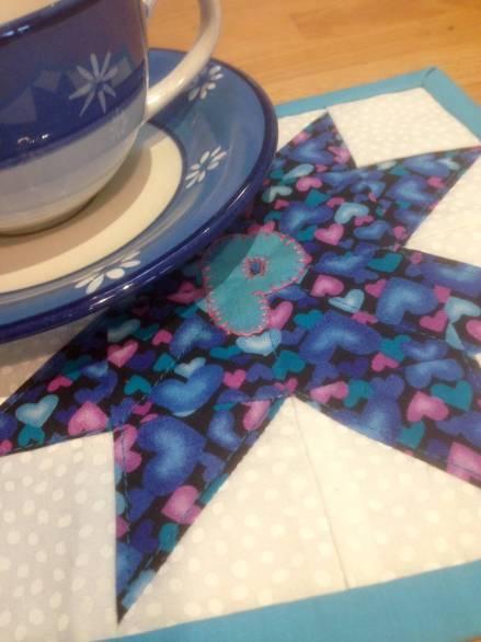 Penny's mug rug
