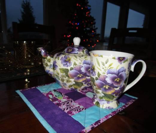 Moira's mug rug